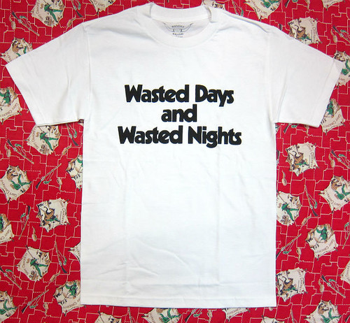 Bandit Brand Wasted Days Tee #BBMT-wasted, white