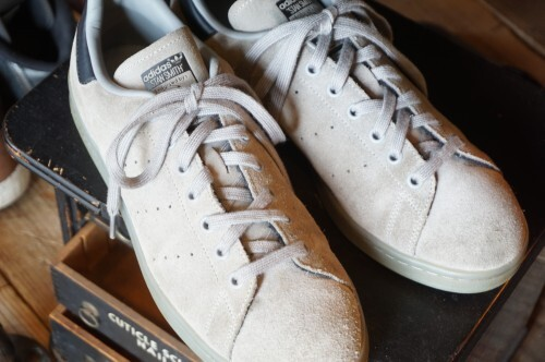 "adidas STAN SMITH gray suede Sneaker ""U.S.MODEL"""