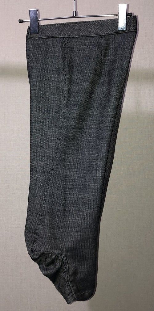 AW2006 MARTIN MARGIELA 3D CROPPED TROUSERS