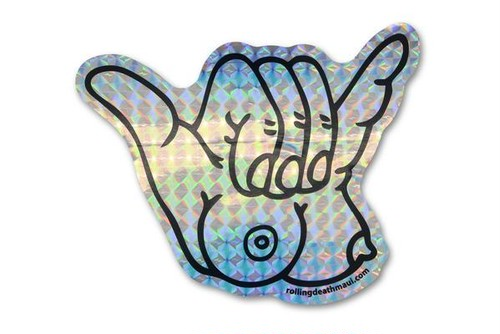 Prism Titty-Shaka Sticker 2-Pack