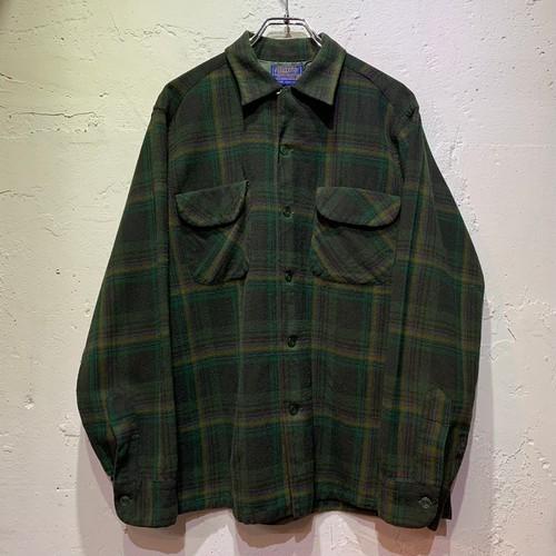 60's Pendleton wool plaid board shirts