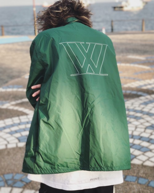 W logo Coach jacket 【Green】