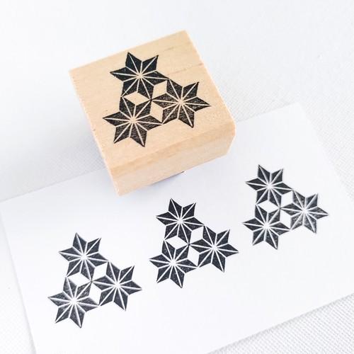 家紋「三つ麻の葉」