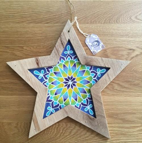 star batik オーナメント