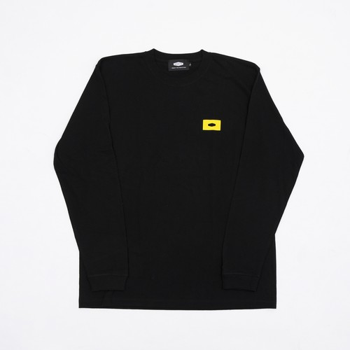 CIVIL CHAMP CIRCLE L/S T-SHIRTS BLACK
