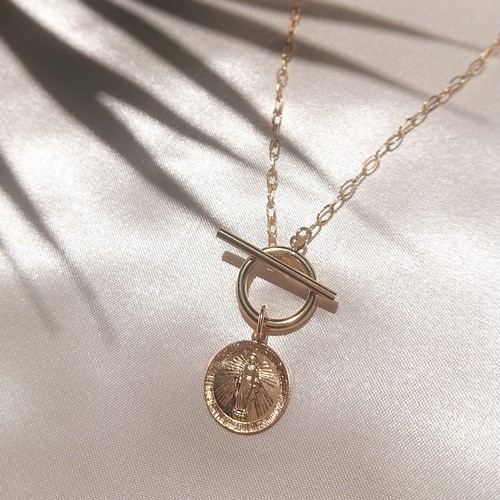 SALTY BABE Coin Necklace