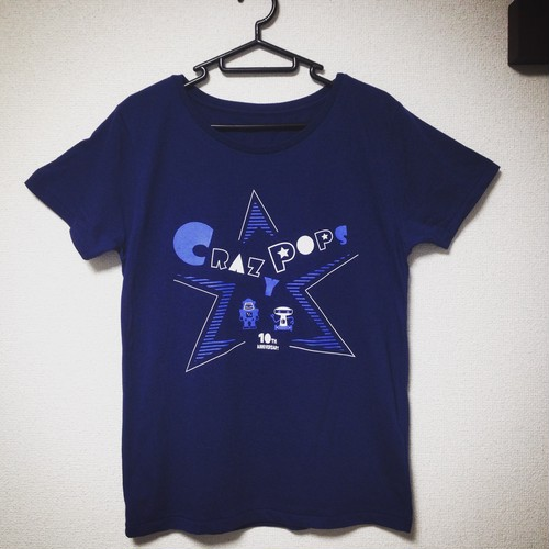 【SALE】CRAZYPOPS 10th ANNIVERSARY Tシャツ