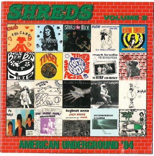 v/a / shreds volume 2 - american underground '94 cd