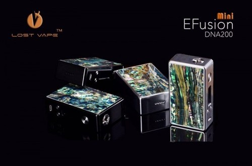 EFUSION Mini DNA200 by LOST VAPE NZL SHELL LIMITED EDITION