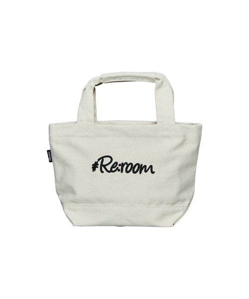 3D LOGO SMALL CANVAS TOTE BAG[REB035]