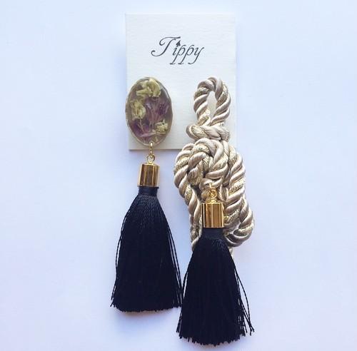 robe tassel pierce / earring
