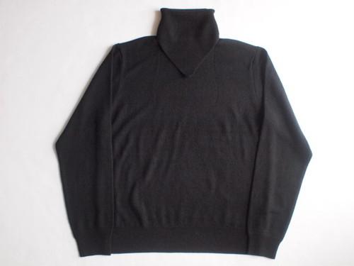 TAKAHIROMIYASHITATheSoloist. scarf turtleneck sweater. / sk.0001