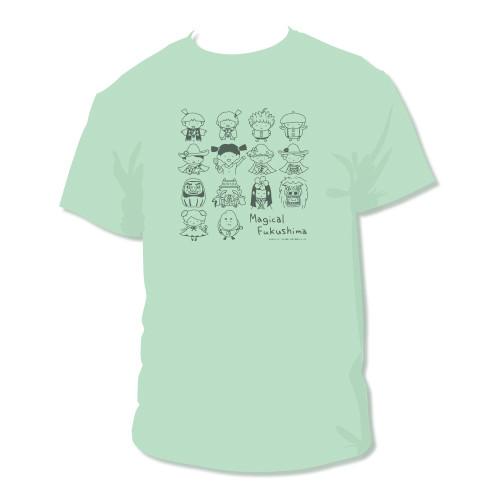 みはるのハルミーゴ Tシャツ アイスグリーン