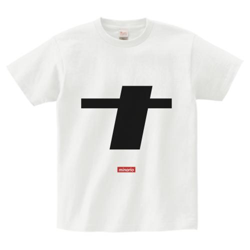 minario / ナ(na) LOGO T-SHIRT WHITE