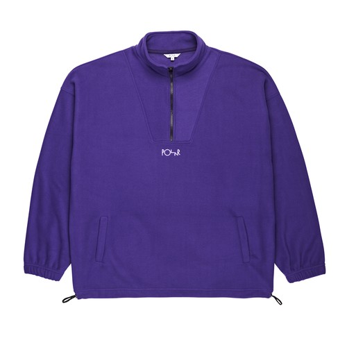 POLAR SKATE CO.  Lightweight Fleece Pullover 2.0 Deep Purple M