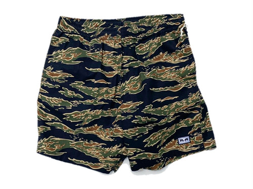 OBEY|Easy Relaxed Camo Shorts