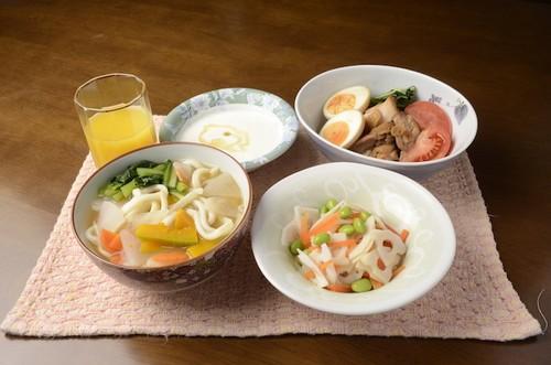試合前日の夕食レシピ