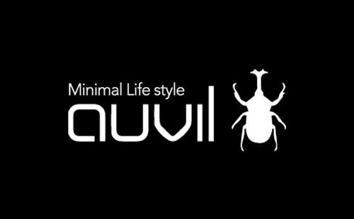 auvil cutting sticker White カッティングステッカー ホワイト