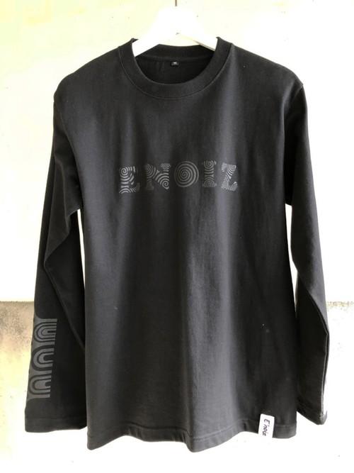 Jomon Long Sleeve Tee Type2 Black × Black