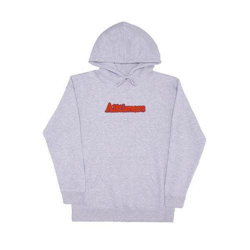 ALLTIMERS BROADWAY HOODY  HEATHER GREY L