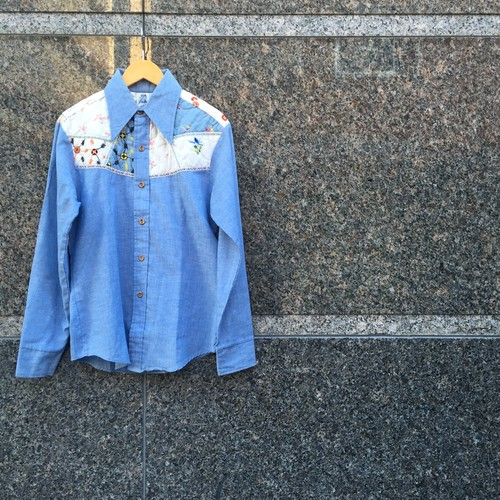KENNINGTON シャンブレーシャツ