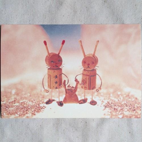 ポストカード/水晶の月