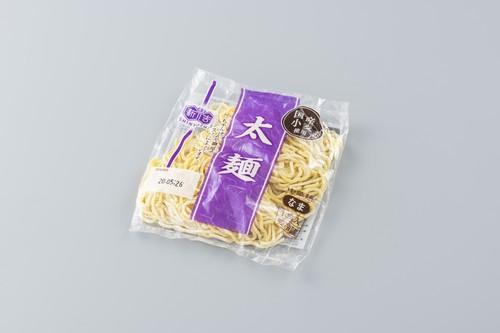 国産小麦生中華  太麺
