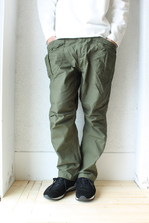 A Vontade (アボンタージ) / Fatigue Trousers(ファティーグ トラウザーズ)オリーブ