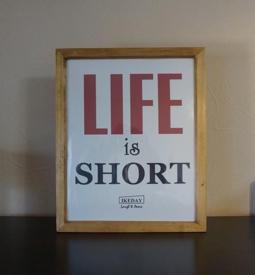 LIFE-オリジナルサインポスター