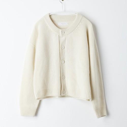 """【SETTO】COMFORT CARDIGAN  """"WHITE"""" セット ニット カーディガン"""