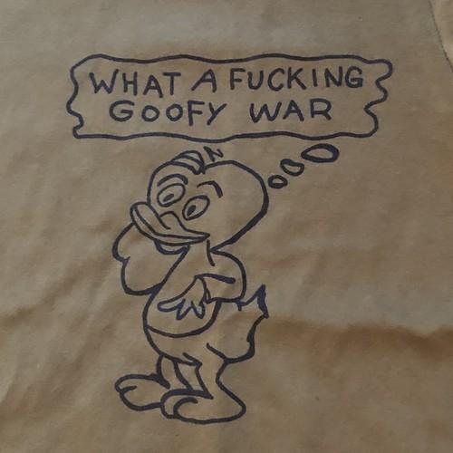 Vietnam War Printed S/S Tee Shirt, Goofy War