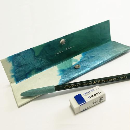 和紙のペンケース No.519