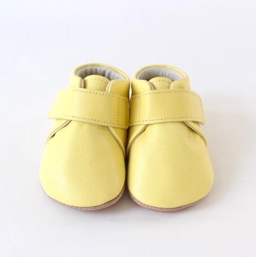 baby shoes(plain)lemon