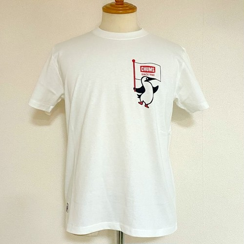 Booby Flag T-shirts White