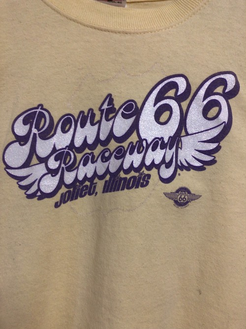 late90's Route66 glitter T's