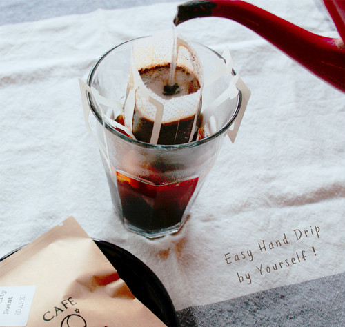自家焙煎コーヒー・深炒り・ドリップバック(10g×5包)※準備中