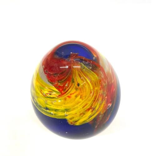 SA340 黄色と赤と青の球体 水中花