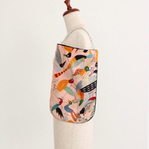【一点もの】No.8スカーフで作ったプチバッグ