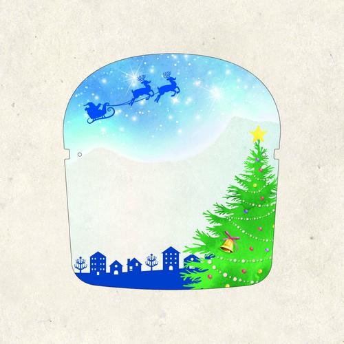 FS0073クリスマスツリー※メガネフレームは別売りです。