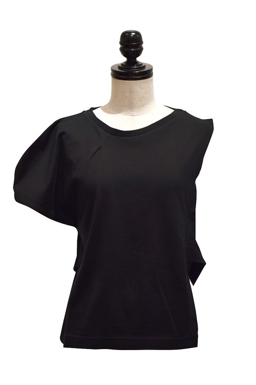 RIDDLEMMA / Puff sleeve tops / Black