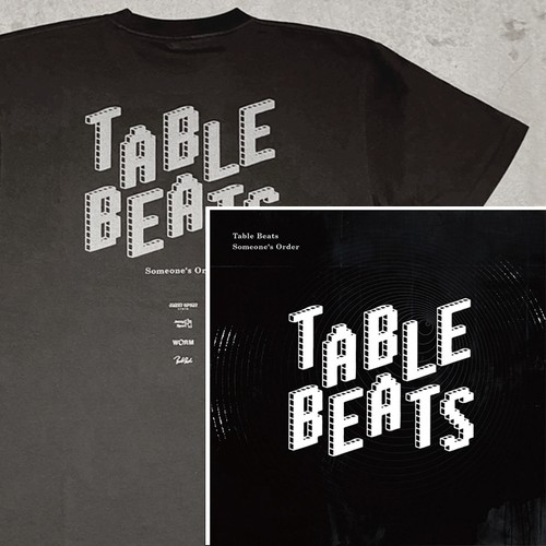 [CD + Tシャツ] Table Beats - Someone's Order