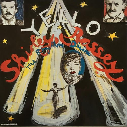 【12inch・独盤】Yello, Shirley Bassey /  The Rhythm Divine