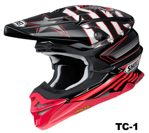 SHOEI VFX-WR GRANT3 TC-1