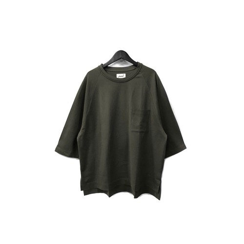 yotsuba - Raglan Pocket Tee / BLACK ¥8500+tax