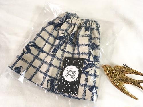 アンティーク調リボンのギャザースカート