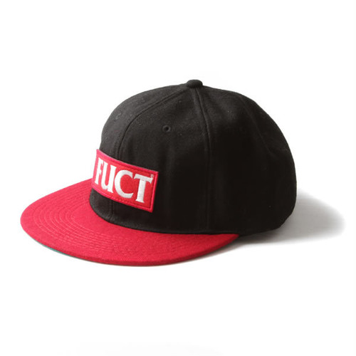 FUCT SSDD RED LOGO WOOL CAP 41406(キャップ) ファクト 4233-red