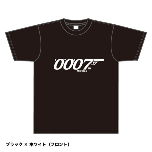 Tシャツ2018 (黒x白)
