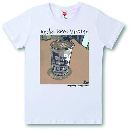 ATBR-V-SST-048 Tシャツ カフェラテ