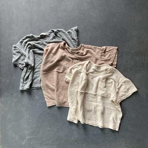 OPENING N リネンレーヨンTシャツ