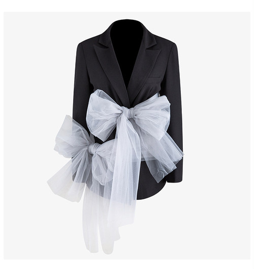 RIMI&Co.SELECTビッグボウデコレーションジャケット<Big Bow Decoration Jacket>